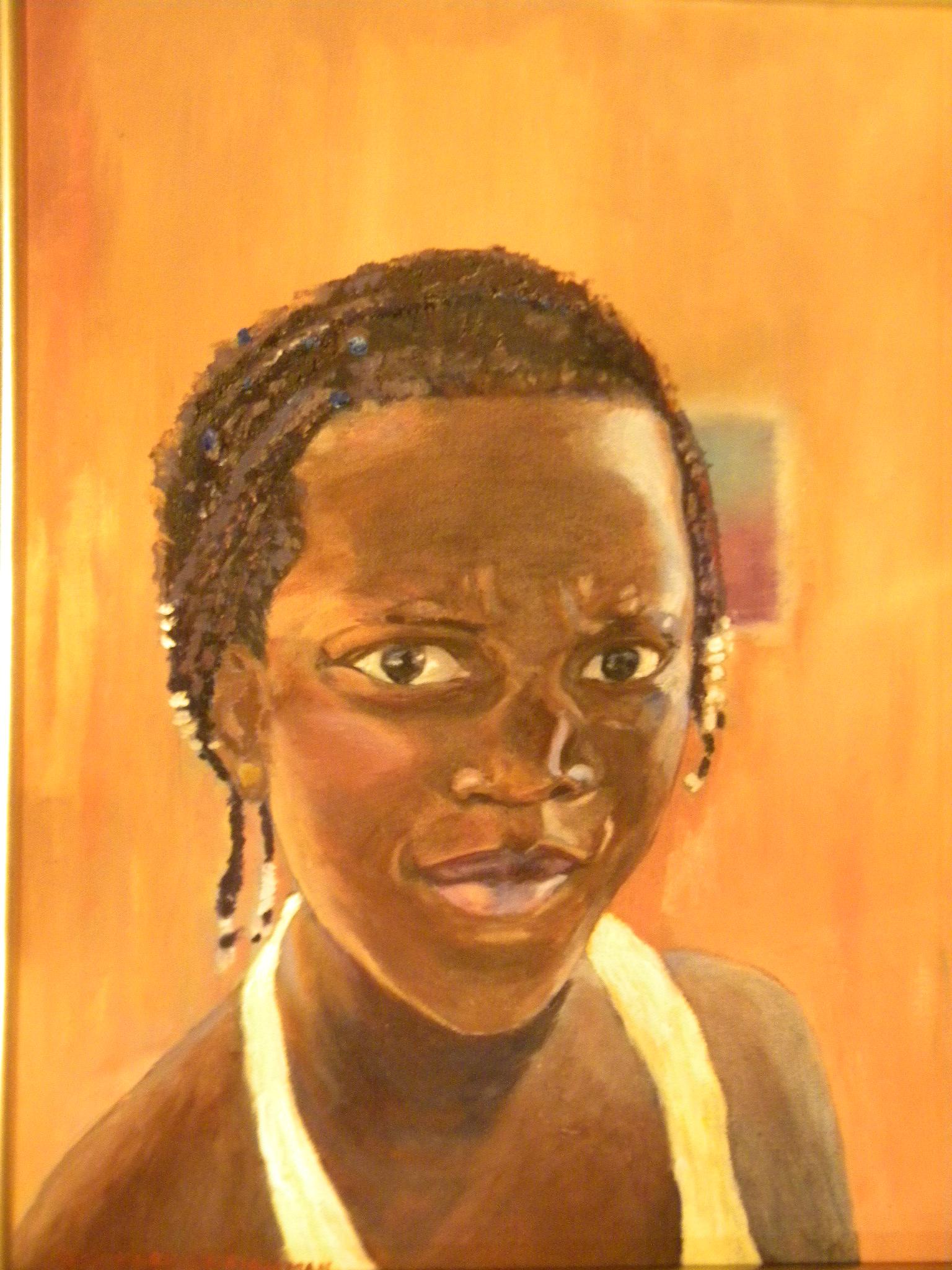 """Haitian Resilience""  by Kay H. Kriegsman"
