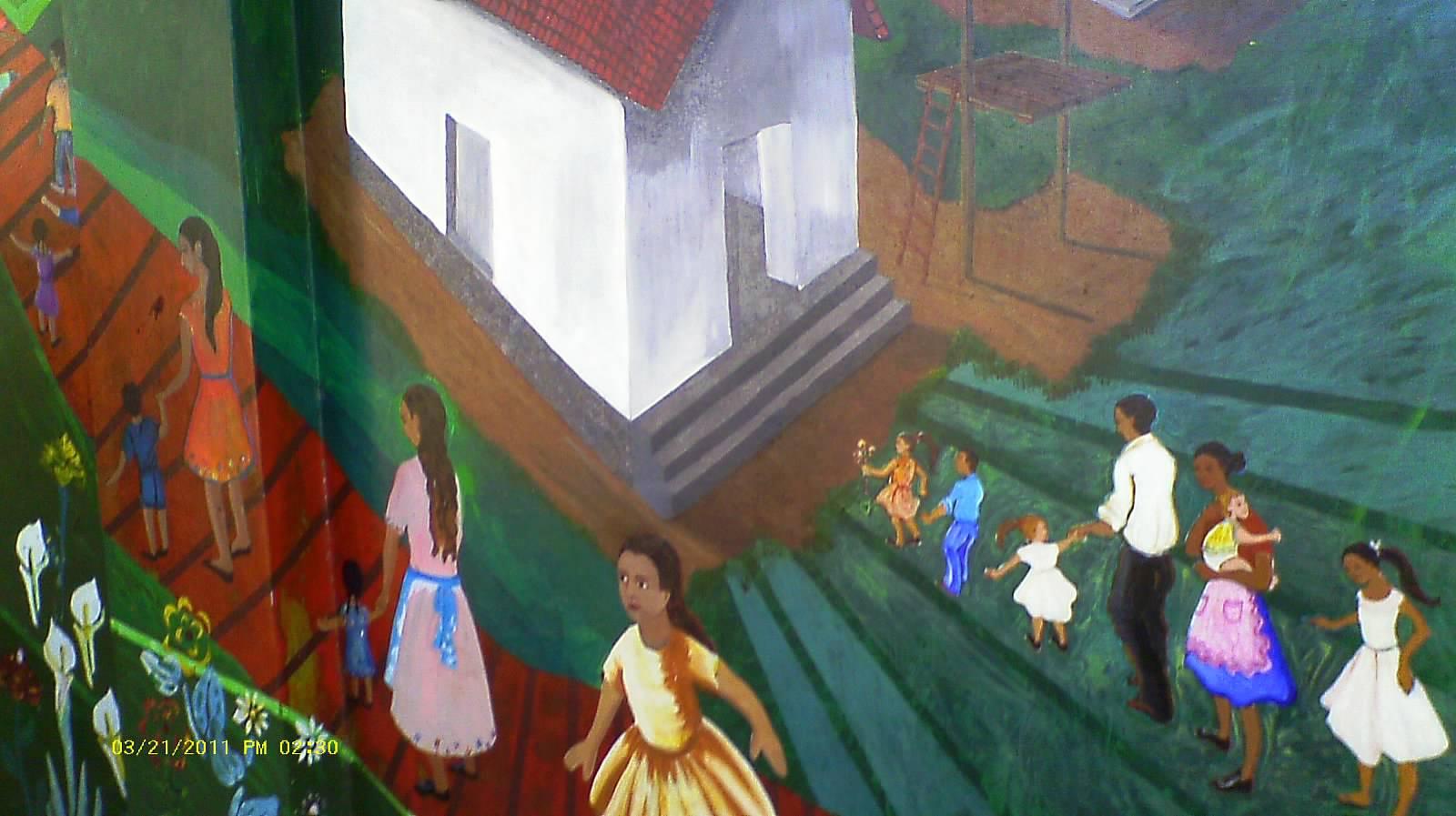 Mural at El Mozote
