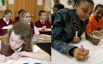 segregated schools.2